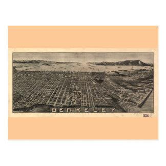 Berkeley California in 1909 Postcard