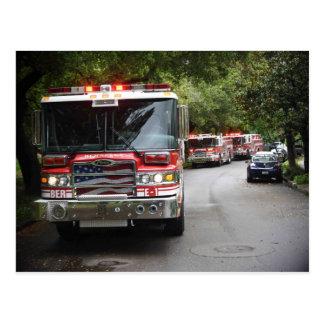 Berkeley Fire Department Postcard