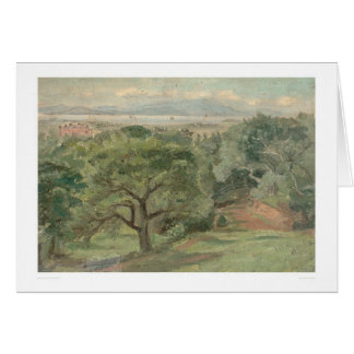 Berkeley overlooking U. of California (0138B) Card