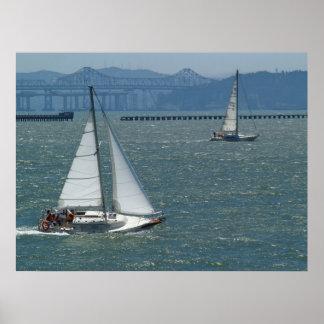 Berkeley Sailboats Poster