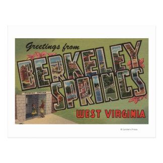 Berkeley Springs, West Virginia Postcard