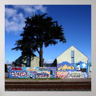 Berkeley Tree Poster