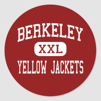Berkeley - Yellow Jackets - High - Berkeley Classic Round Sticker