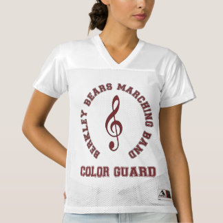 Berkley Bears Marching Band - Color Guard - Jersey