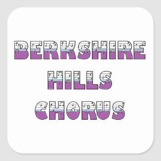 Berkshire Hills Chorus Glossy Stickers