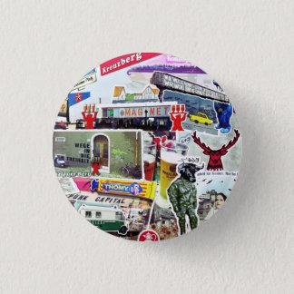 Berlin Art 3 Cm Round Badge