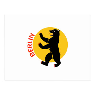 BERLIN BEAR POSTCARD