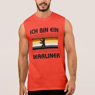 Berlin Bear Pride Ich Bin Ein Bearliner Sleeveless T-shirt