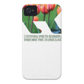 Berlin Bear - Tulips iPhone 4 Cases