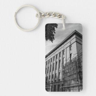 Berlin Berghain Single-Sided Rectangular Acrylic Key Ring
