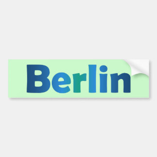 Berlin Bumper Sticker