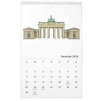 Berlin Calendar 2018