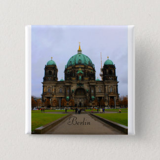 Berlin Cathedral 15 Cm Square Badge