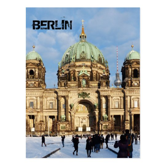 Berlin Cathedral, Berliner Dom 02.2.T, Germany Postcard