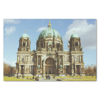 Berlin Cathedral German Evangelical Berliner Dom Tissue Paper