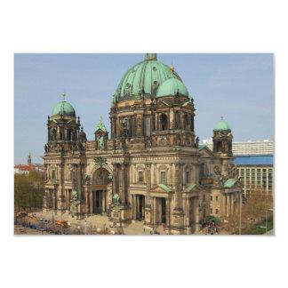 Berlin Cathedral Supreme Parish Collegiate Church 9 Cm X 13 Cm Invitation Card