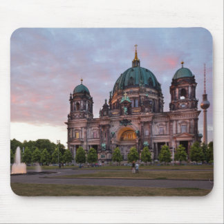 Berlin Cathedral with Television Tower and Lustgar Mouse Pad