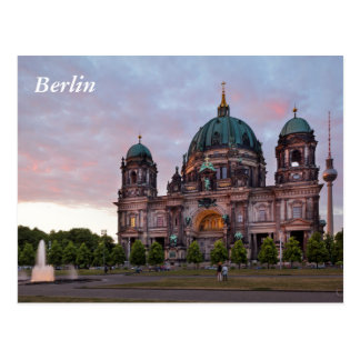 Berlin Cathedral with Television Tower and Lustgar Postcard