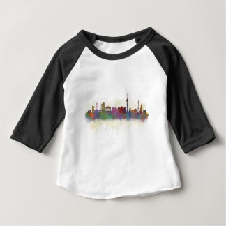 Berlin City Germany. Deutsche Skyline art v2 Baby T-Shirt