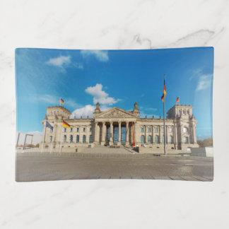 Berlin city Germany Reichstag building landmark ar Trinket Trays