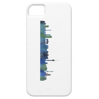 Berlin City Germany watercolor Skyline art Barely There iPhone 5 Case