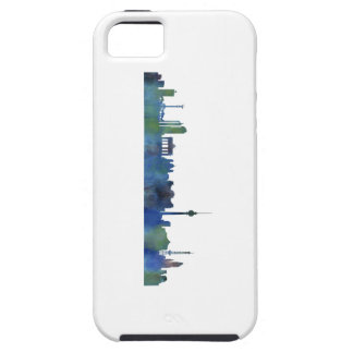 Berlin City Germany watercolor Skyline art iPhone 5 Covers