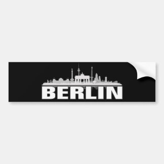 Berlin city of skyline - autostickers bumper sticker