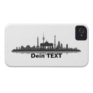 Berlin city of skyline - Blackberry sleeve Case-Mate iPhone 4 Cases