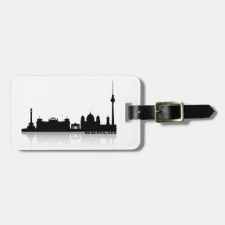 Berlin Cityscape_2 Luggage Tag