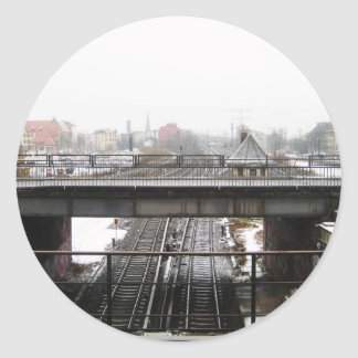 Berlin Classic Round Sticker