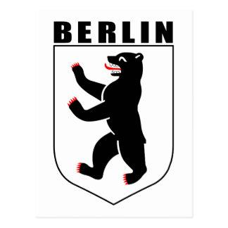 Berlin (coat of arms) postcard