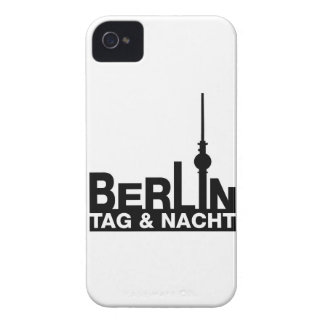Berlin day and night iPhone 4 cover