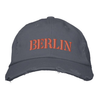 BERLIN EMBROIDERED HAT