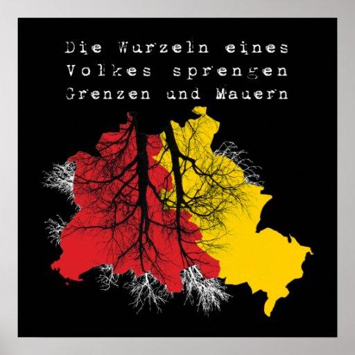Berlin fall of the wall print