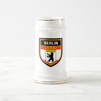 Berlin Flag Beer Stein