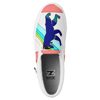 Berlin Flag Slip On Shoes