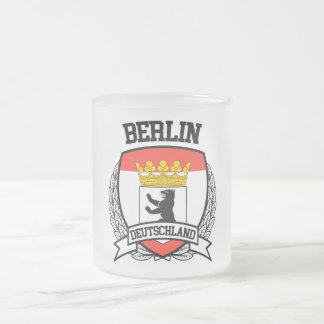 Berlin Frosted Glass Coffee Mug