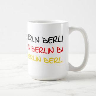Berlin, Germany Logo Souvenir Coffee Mug