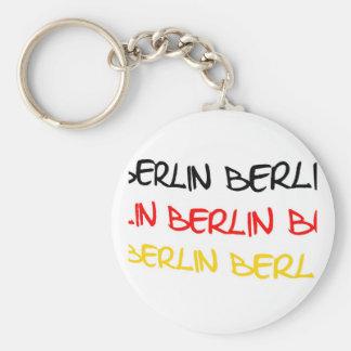 Berlin, Germany Logo Souvenir Key Ring