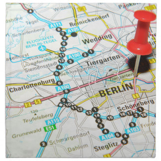 Berlin, Germany Napkin