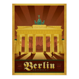 Berlin, Germany Postcard