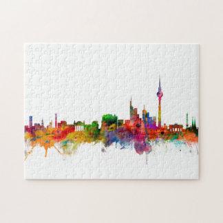 Berlin Germany Skyline Puzzle