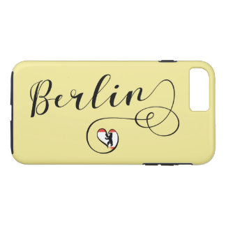 Berlin Heart Cell Phone Case, Germany iPhone 8 Plus/7 Plus Case