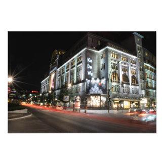 Berlin Kadewe department store of the west Photo Art