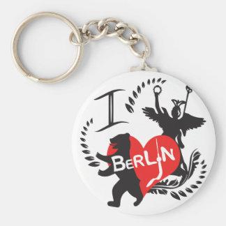 Berlin key supporter key ring