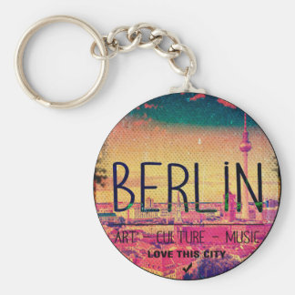 Berlin, Love This City series, circle Key Ring