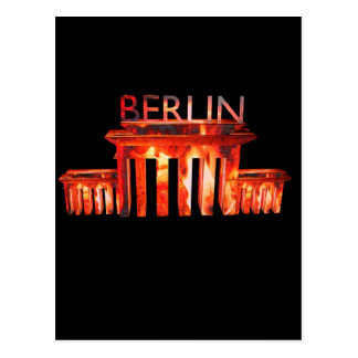 Berlin Nightlife Postcard