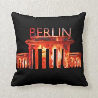Berlin Nightlife Throw Cushion