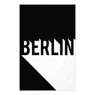 Berlin Personalised Stationery