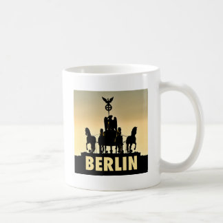 BERLIN Quadriga 002.1 Brandenburg Gate Coffee Mug